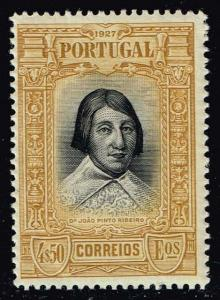 Portugal #436 Joao Pinto Ribeiro; Unused (22.50)