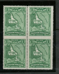 Newfoundland #163b Very Fine Mint Lightly Hinged Imperf Blk **With Certificate**