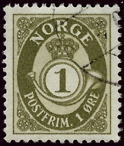 Nice Norway #162 Used  VF...fill an empty spot!