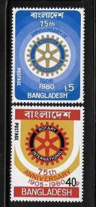 Bangladesh 1980 Rotary International MNH A179