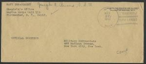 AMERICAN SAMOA 1942 cover : US NAVY / MARINES HAVE LANDED duplex...........50410