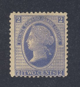 PEI  Stamp #12-2c VF Mint HR  Guide Value = $30.00