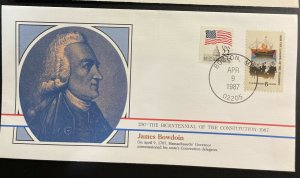 US #1420,2115 Used on Cover - Bicentennial of the Constitution 1787-1987 [BIC4]