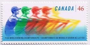 Canada Mint VF-NH #1805 World Rowing Championships