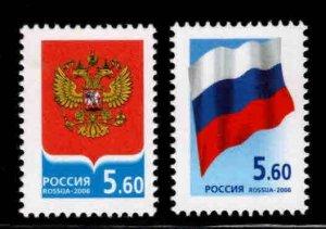 Russia Scott 6962-6963 MNH** stamp SET