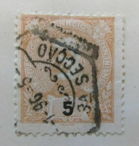 A5P44F213 Portugal 1895-1905 5r used