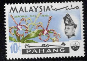 Malaysia - Pahang Scott 87a MH* Orchid stamps wmk variety 1970
