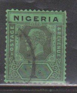 NIGERIA Scott # 29 Used - KGV Definitive