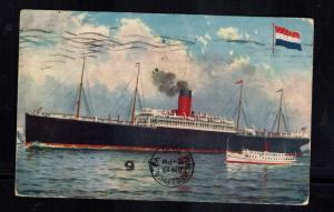 1906 Philadelphia PA USA Postcard Cover SS Minneapolis Ship Passenger Liner