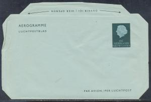 Netherlands New Guinea aerogramme