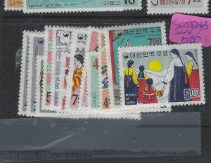KOREA  (PP2704BB)   SC  556-563   MNH