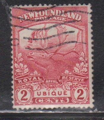 NEWFOUNDLAND Scott # 116 Used - Trail Of The Caribou Issue