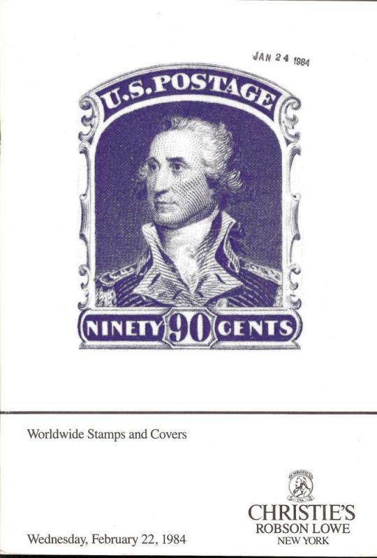 Christie's Robson Lowe: Sale # RLNY10  -  Worldwide Stamp...
