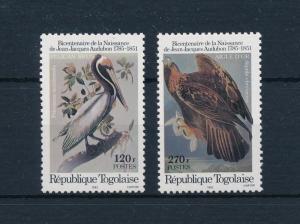 [52644] Togo 1985 Birds Vögel Oiseaux Ucelli  MNH