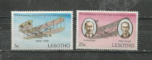 Lesotho Scott catalogue #260-261 Unused Hinged