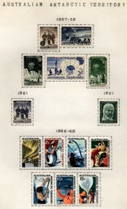 Australian Antarctic territory  One Man's Collection Mint Lightly Hinged $115.00