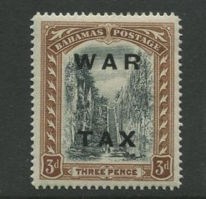 Bahamas -Scott MR14 - Queens Staircase War Tax -1919 - MLH - Single 3p Stamp