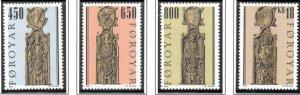 (CMA) Faroe Islands Scott #389-92 MNH Complete Set