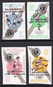 Philippines 962-965 Olympics MNH VF
