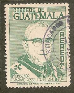 Guatemala  Scott  C341      Monsignor     Used