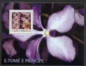 St Thomas & Prince Islands 2003 Orchids (with Marilyn...