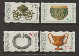 Germany -Scott 1218-1221 - General Issue-1976 - MNH - Set of 4 Stamps