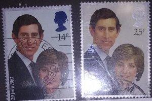 Great Britain Charles & Diana Wedding Scott # 950-1