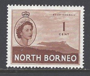 North Borneo Sc # 261 mint hinged (RS)