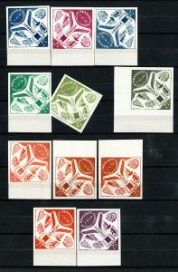 Monaco Stamps # 435 NH 11 Color Proofs