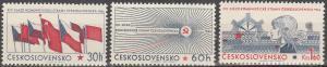 Czechoslovakia #1397-9 MNH VF (V2652)