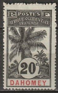 Dahomey 1906 Sc 22 MH*