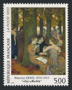 France 2376,MNH.Michel 2978. The Muses,by Maurice Denis,1870-1943.1993.