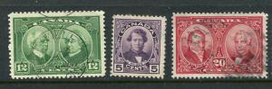Canada #146-8 Mint/Used