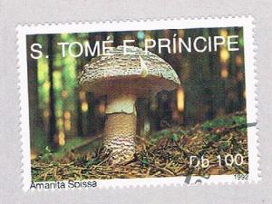 Saint Thomas and Prince Is 1057 Used Mushrooms (BP1913)