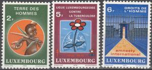 Luxembourg #614-6 MNH F-VF (SU3826)
