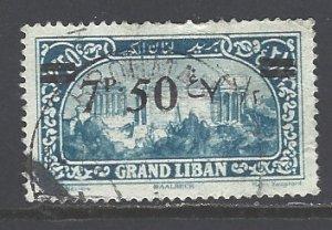 Lebanon Sc # 69 used (RS)