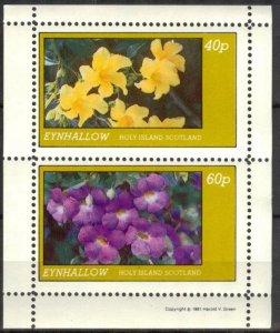 {E138} Eynhallow Scotland Flowers (1) Sh.2 MNH Cinderella !!