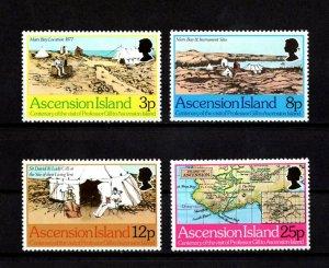 ASCENSION - 1977 - PROFESSOR DAVID GILL - ASTRONOMER  - MARS BAY - MINT MNH SET!