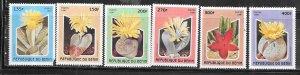 Benin #1029-1034  Cacitus Flowers  (MNH) * CV $6.40