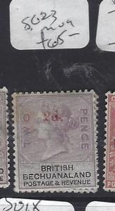 BECHUANALAND (P1910B) QV   2D/2D      SG 23   MOG