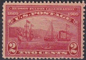 US #372 F-VF Unused  CV $10.00 (Z4963)