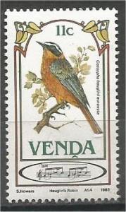 VENDA, 1985, MNH 11c, Songbirds, Scott 116