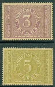 EDW1949SELL : COLUMBIA 1929 Scott #C78-79 Very Fine, Mint Original Gum. Cat $225