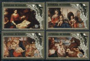 1984 Burundi 1664-67 Paintings 15,00 €