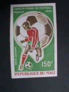 MALI STAMP 1974-SC#C208 WORLD CUP SOCCER CHAMPIONSHIP-MNH PROOF SAMPLE STAMP