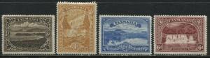 Tasmania 1899 Scenic Views 3d to 6d mint o.g.