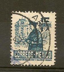 MEXICO STAMP VFU CORREO MEXICO 15 CENTAVOS  # M8