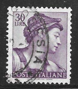 Italy 819: 30l Head of the Sibyl Eritrea, used, F-VF