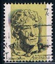 Australia 546, 7c Dame Mary Gilmore, single, used, VF