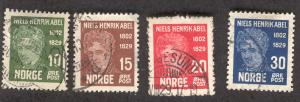 NORWAY 145148 USED NIELS HENRIK, MATHEMATICIAN 1929